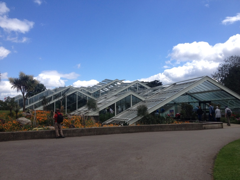 The Princess of Wales Conservatory houses  tender plants of different climates.