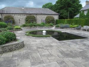 The Sunken Garden.