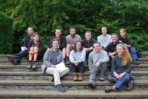 (Some of) The Hidcote Garden Team.