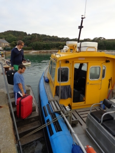 A jet boat then took us from St. Mary's to the island of Tresco.
