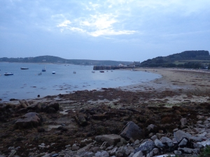 At around 1.15 square miles, or 297 hectares, Tresco is the second largest inhabited island in the Isles of Scilly.