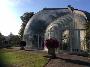 Bicton's Palm House is one of the earliest surviving curved iron glasshouses and is the second largest of its kind in Britain.