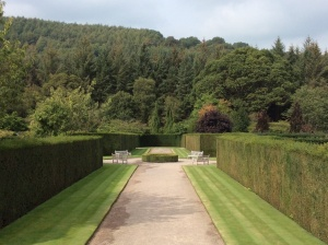The gardens of RHS Rosemoor have a spectacular view out to the Devon countryside