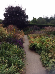 Plenty of colour elsewhere in the formal gardens