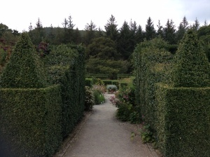 Set within the formal gardens are the Long Borders. These 180m long borders form the central axis of the gardens; they are filled with a mixed planting scheme with colours graduating from yellow through darker hues to shades of white and cream.