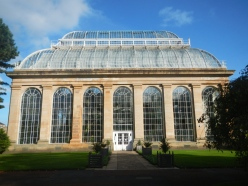 As you walk into the depths of the grounds at the Gardens one of the first things you notice is the giant structure of the Palm House at the Gardens.