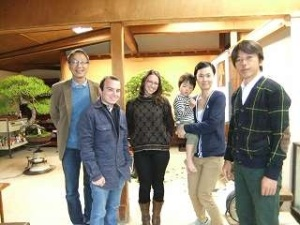 Bonsai Suishoen family and guests.