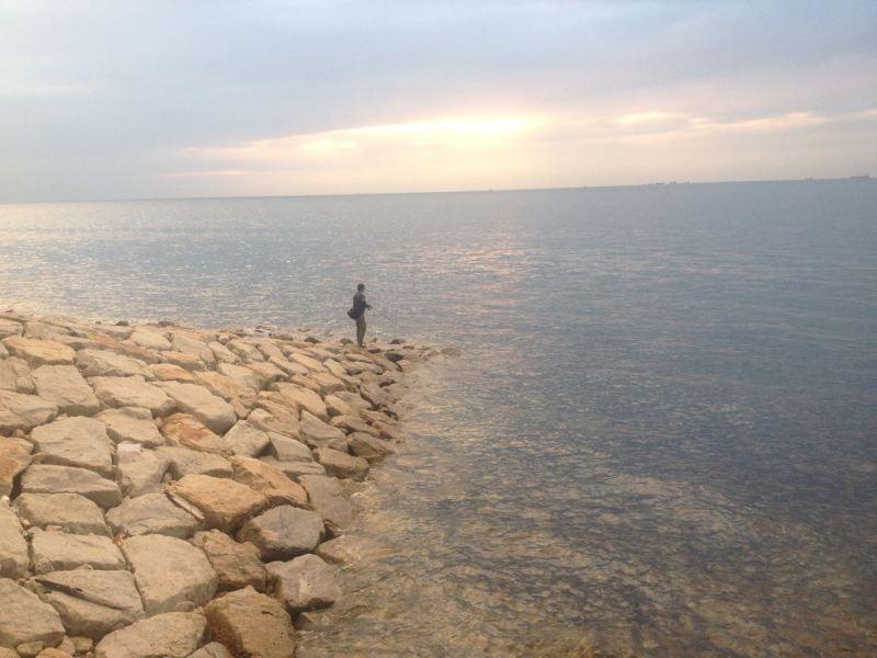 Awaji seaside.