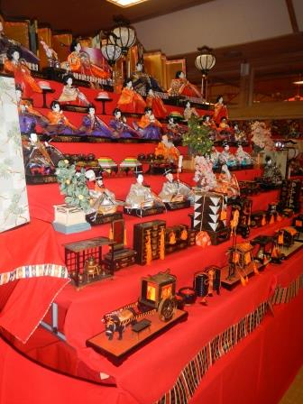 Hinamatsuri Display