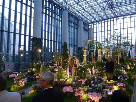 The Forum was concluded with a reception in the Conservatory.