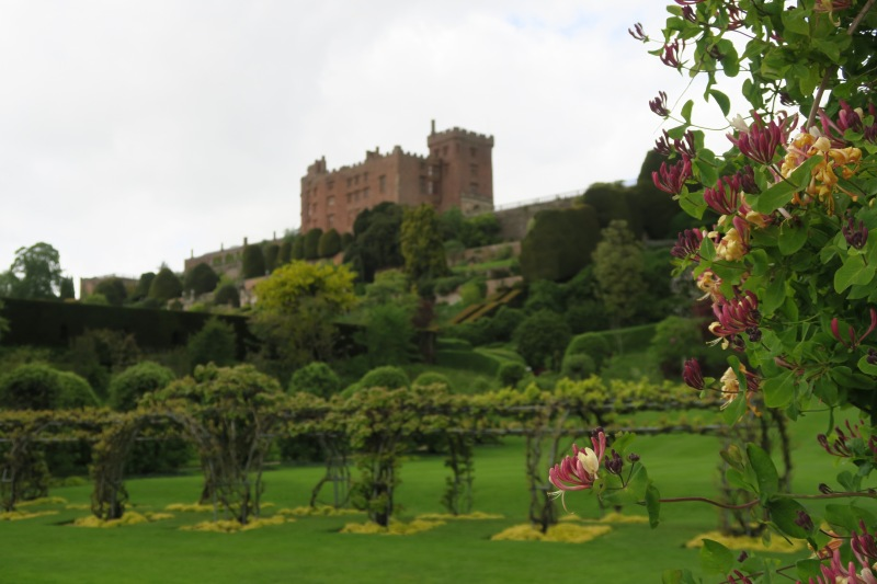 Shot from Powis Castle and Garden, a National Trust property that we visited in Wales