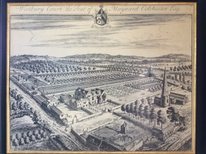 A print of the original Johannes Kip engraving of the property.