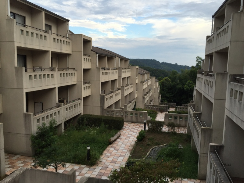 The dorms at ALPHA where we will live for the next few months