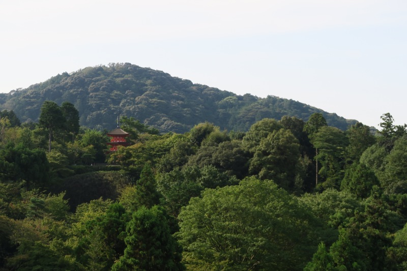 Another view from Kiyomizu-dera