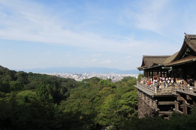 View of Kyoto from Kiyomizu-dera
