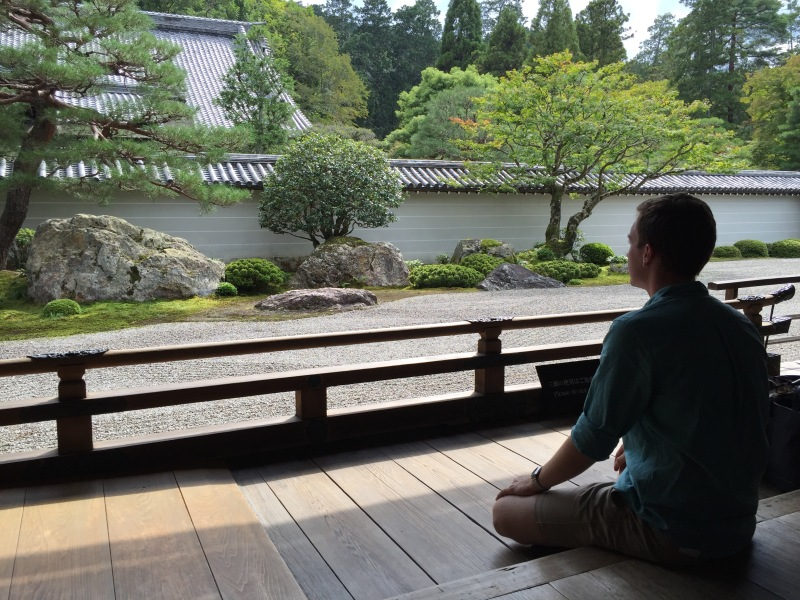 Spending peaceful time at Nanzen-ji