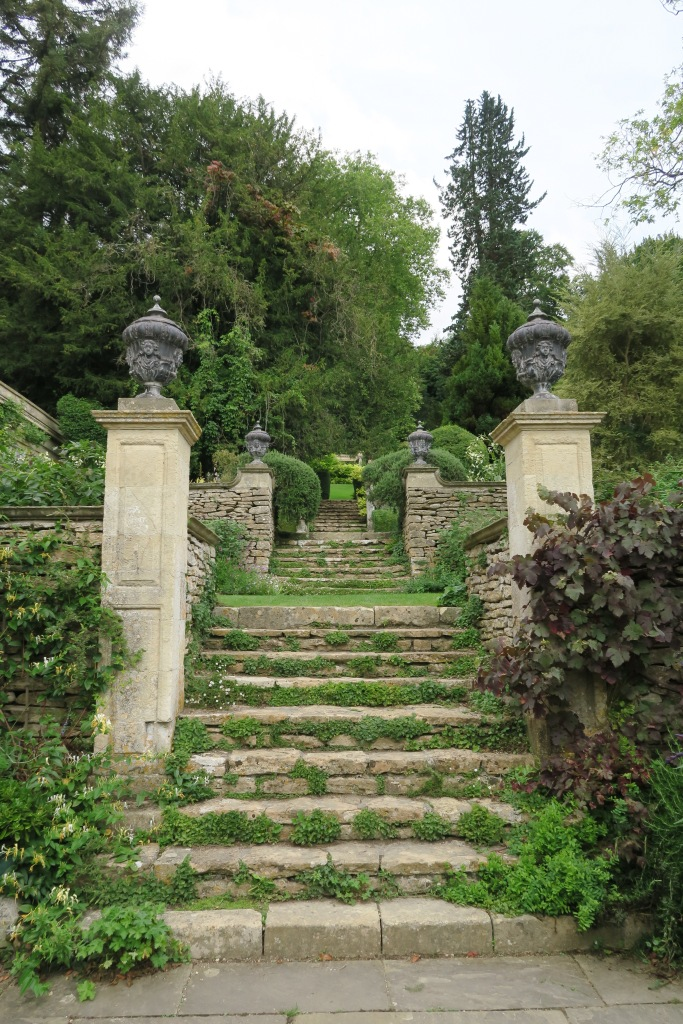 At Iford Manor, you could explore the ancient architecture at will