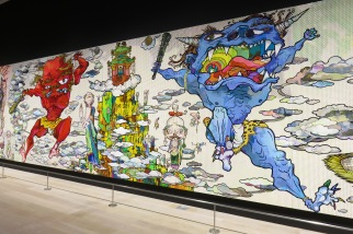An exhibition of The 500 Arhats at the Mori Museum of Contemporary Art, a dedication to Qatar, the first country to respond to the 2011 Fukushima disaster.