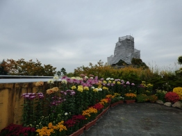 Part of the Kirakata Park display, complete with theme park in the background